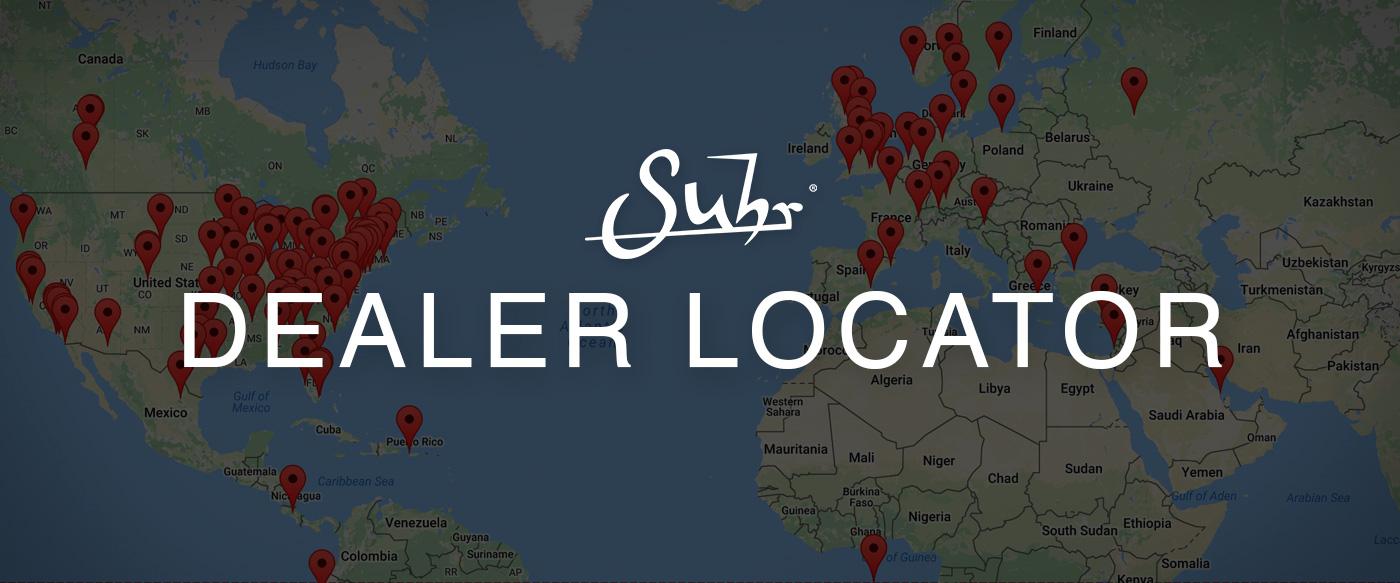 Dealer List | Suhr.com