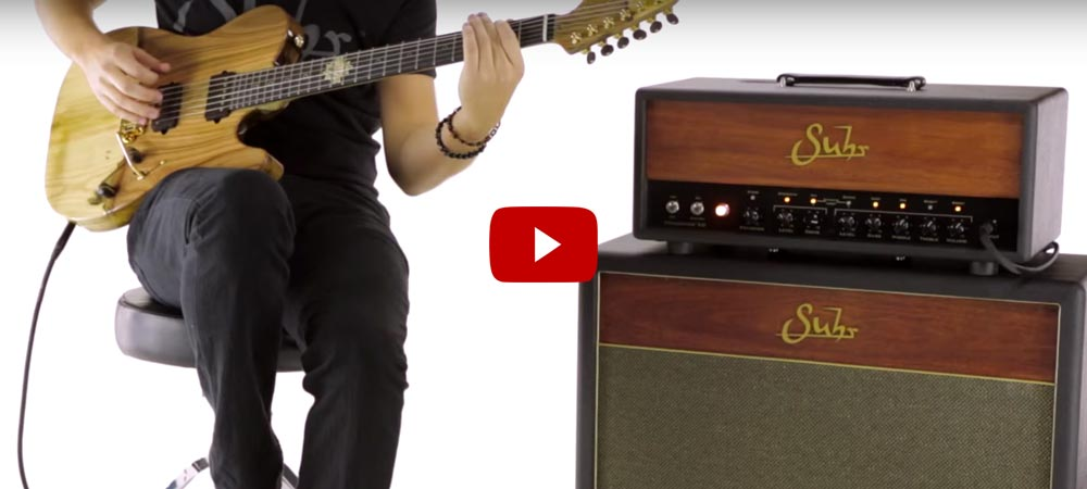 Andy Wood Demos The Suhr Bella Amplifier
