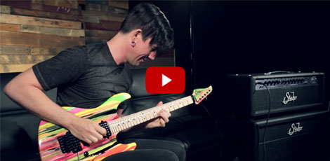 Pete Thorn Demos The Suhr 80s Shred MKII