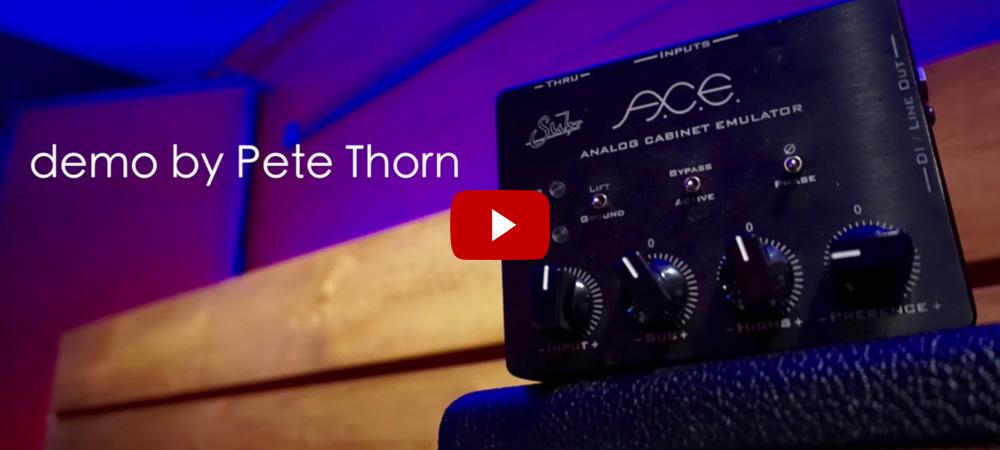 Pete Thorn Demos The Suhr PT100 Amplifier