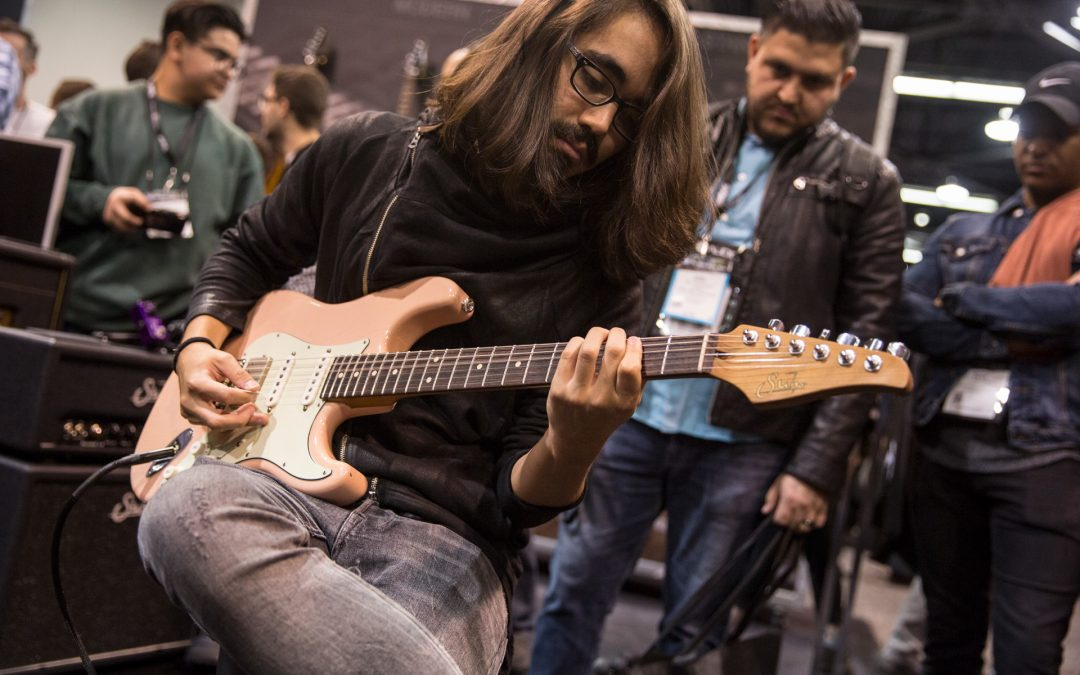 Suhr® Announces Mateus Asato Signature Series™ Guitar