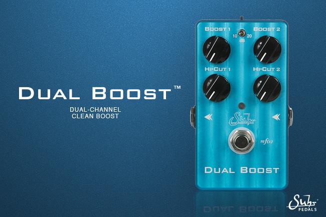 Suhr Dual Boost Pedal | Suhr com
