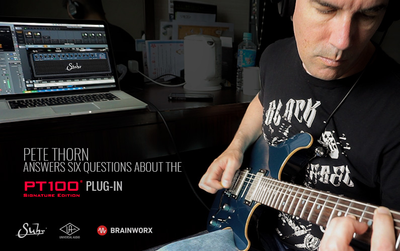 Pete Thorn Answers Six Questions About The PT100 Plug-In
