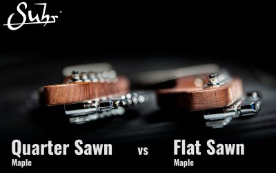 Quarter Sawn vs. Flat Sawn Maple Necks