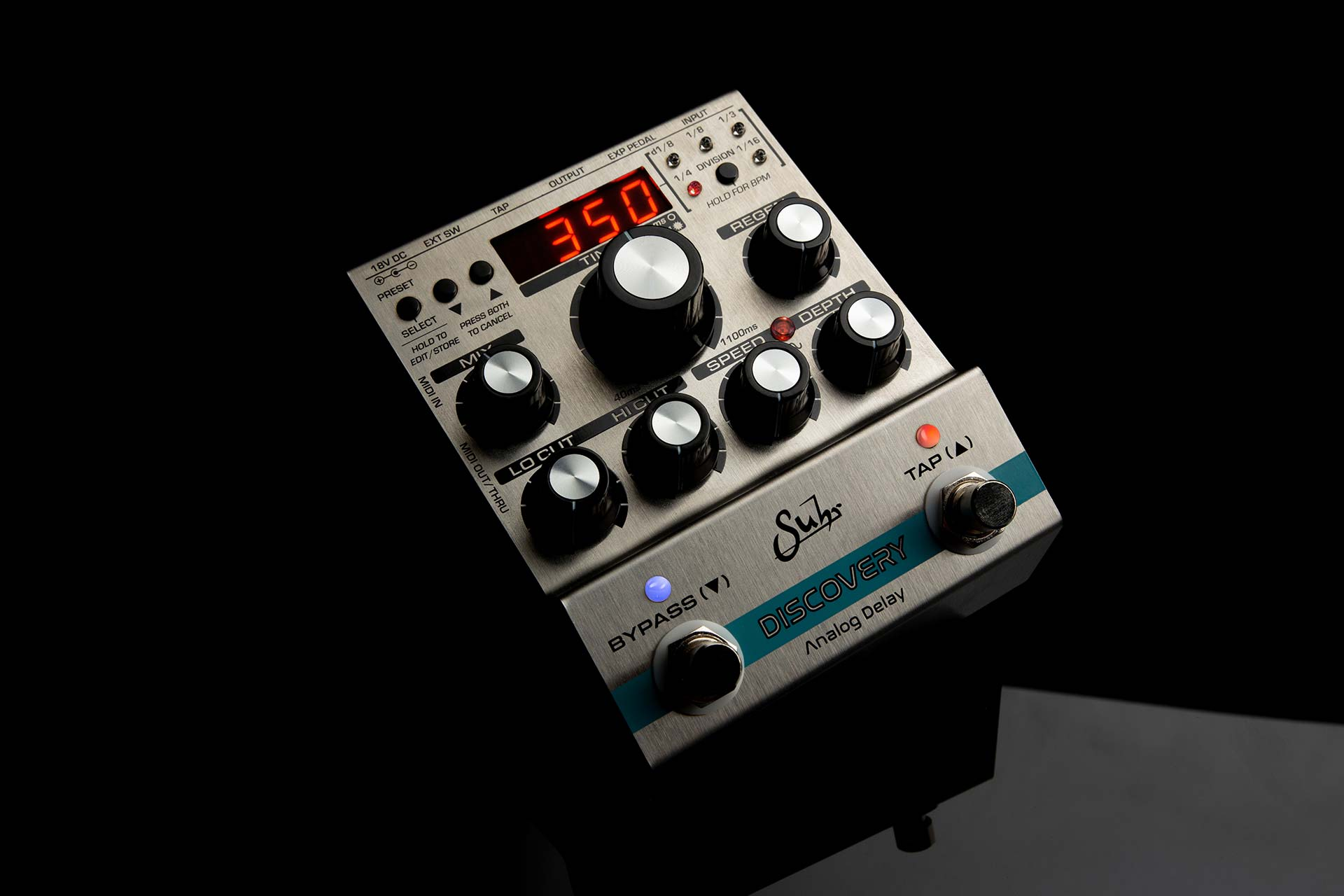 Discovery Delay Expression Pedal