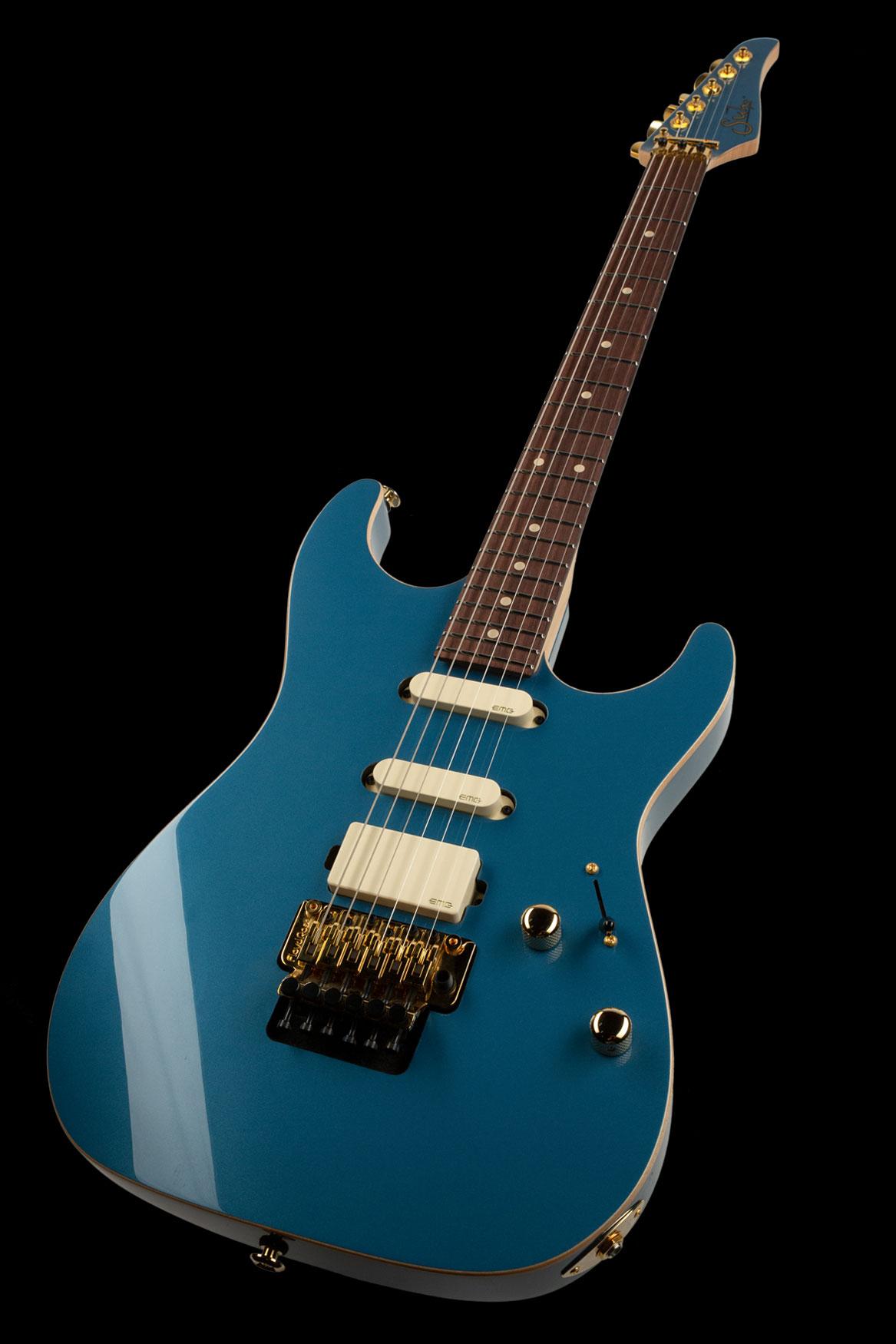 01-LTD-0031: Standard Legacy, Pelham Blue, Original Floyd Rose