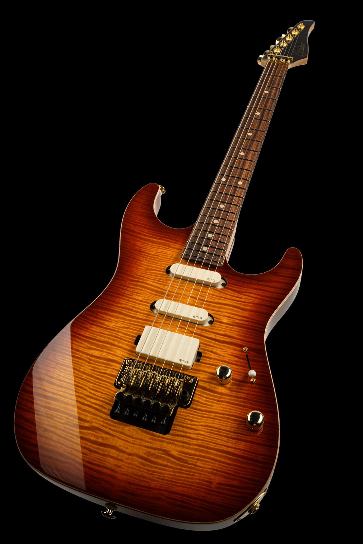 01-LTD-0030: Standard Legacy, Aged Cherry Burst, Original Floyd Rose