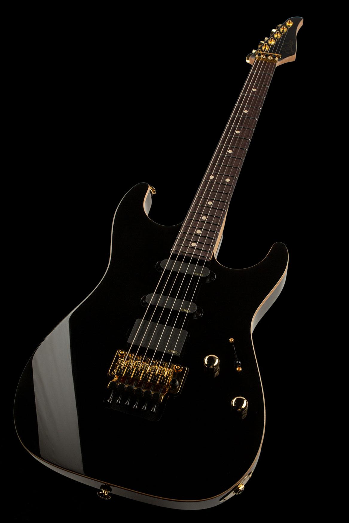 01-LTD-0032: Standard Legacy, Black, Original Floyd Rose
