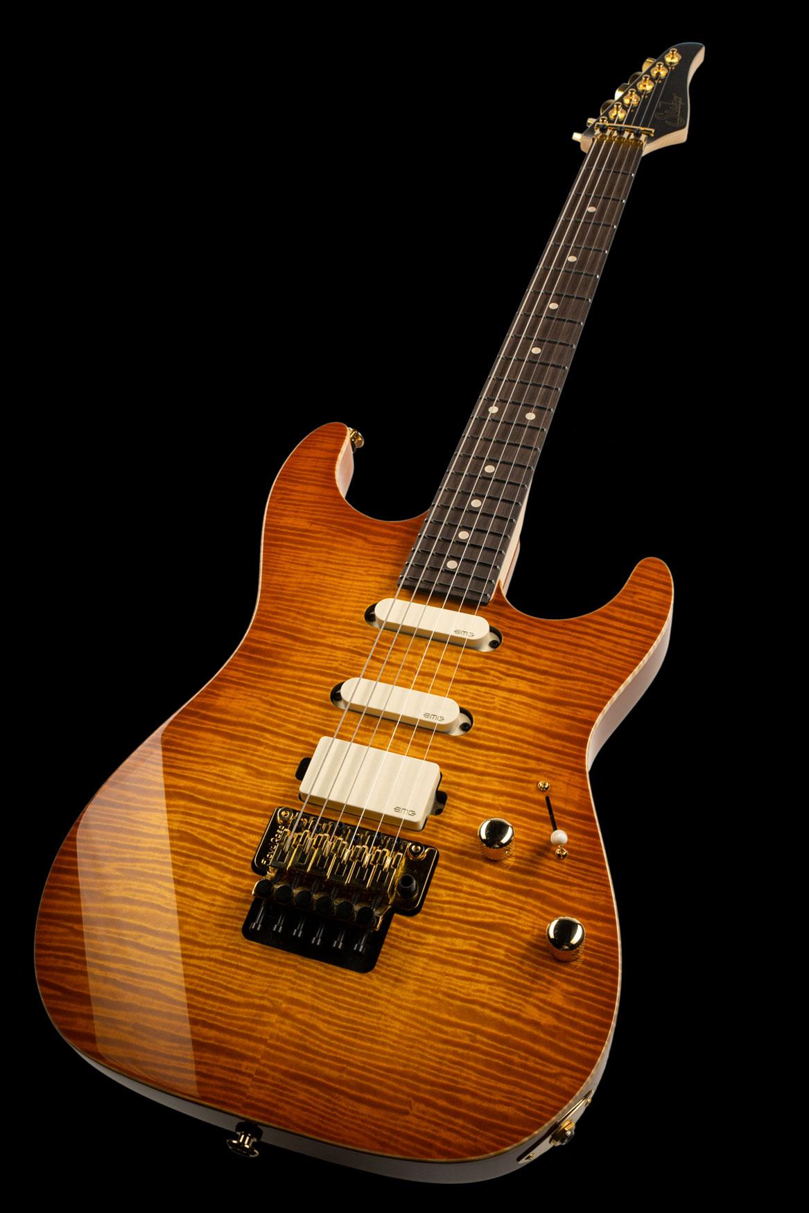 01-LTD-0029: Standard Legacy, Suhr Burst, Original Floyd Rose