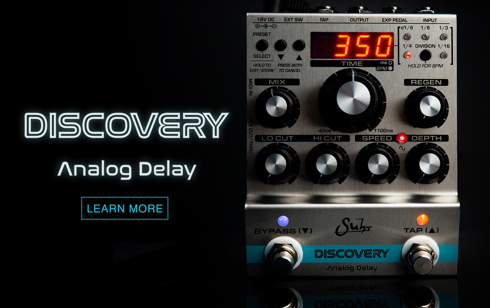 Suhr Discovery Delay - Click To Learn More