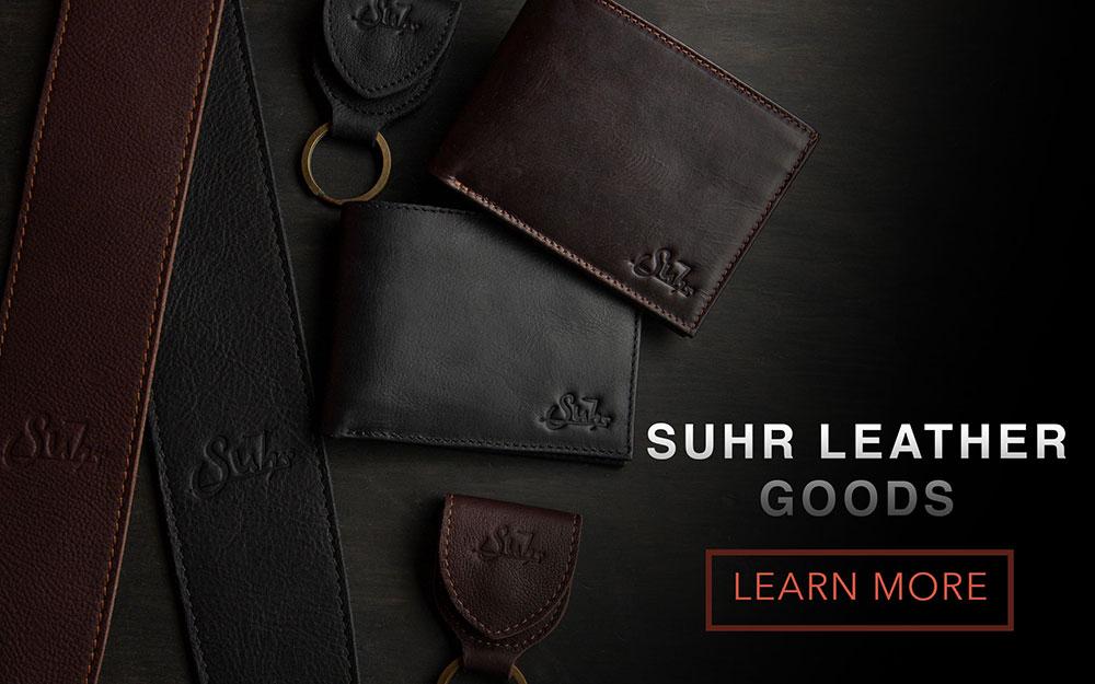 Shop Suhr Leather Goods